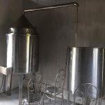 Bộ nồi nấu rượu điện nấu 30kg/mẻ